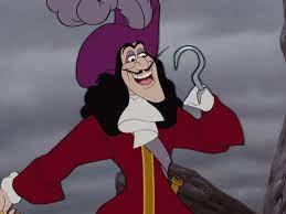 CAPTAIN HOOK ~ Peter Pan, 1953 | Disney villians, Disney, Peter and the  starcatcher